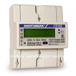 Счетчик электроэнергии однофазный многотарифный CE102 (исп.R5)