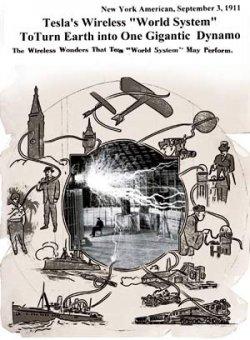 С головой в работе над беспроводной связью | Биография Николы Теслы