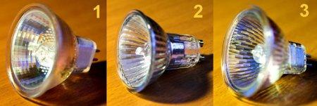 Выбор галогенной лампы 12 или 220 вольт?