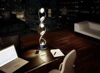 Уникальная лампа PirOLED в виде ДНК компании OSRAM