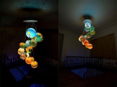 Креативный ночник в виде глобуса
