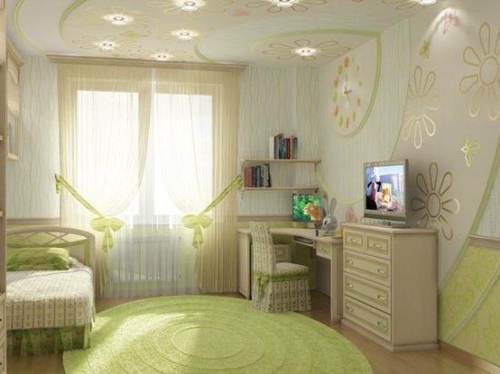 Фото детских комнат, выполненных по дизайнерскому проекту (24 фото). Подборка 1