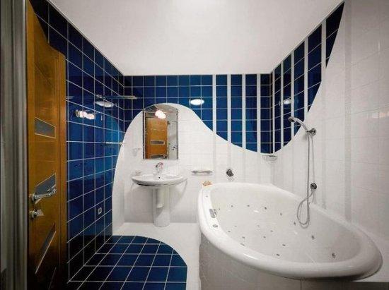 Фото интерьеров ванных комнат (20шт.). Подборка №1