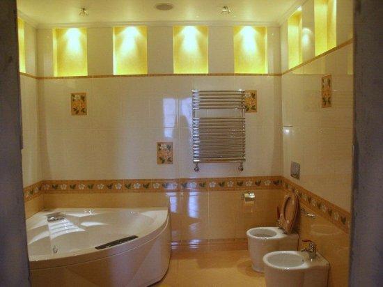 Фото овещения в ванных комнатах (20шт.). Подборка №2