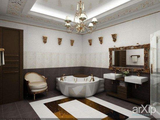 Фото овещения в ванных комнатах (20шт.). Подборка №3