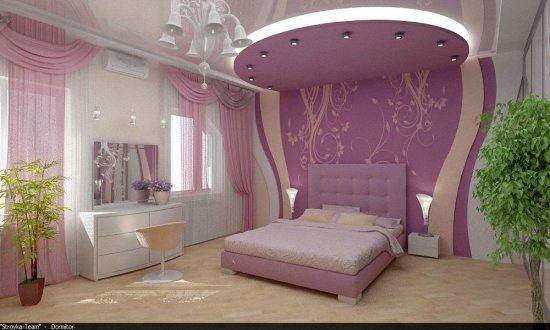 Фото интерьеров спальных комнат (20шт.). Подборка №3