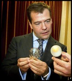 В Россию возвращается эпоха лампочек Ильича