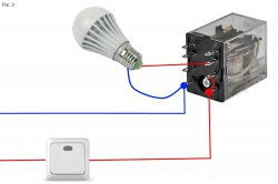 Как избежать мигания лампы в отключенном состоянии