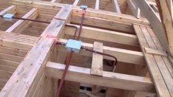 Негорючий кабель для проводки в деревянном доме