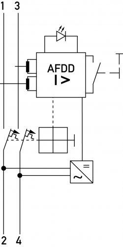 DAFDD устройство от искрения/дугового разряда немецкой компании Doepke