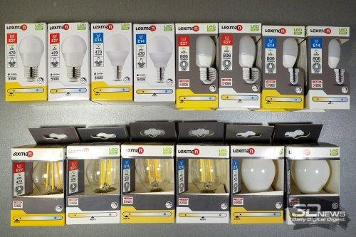 ОБЗОР. Тест 120 светодиодных ламп из «Леруа Мерлен»: выбираем лучшую