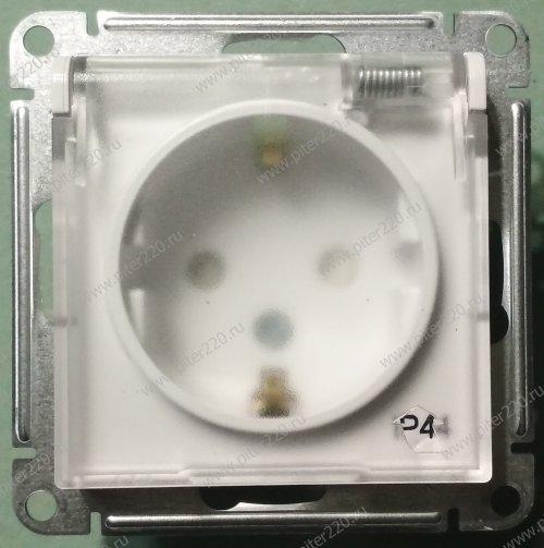 ОБЗОР. Розетка со степенью защиты IP44 (пылевлагозащитная) в серии AtlasDesign от Schneider Electric (артикул ATN440146)