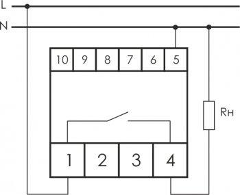 """Реле напряжения CP-722 для защиты от перенапряжения фирмы """"Евроавтоматика"""" ФиФ"""